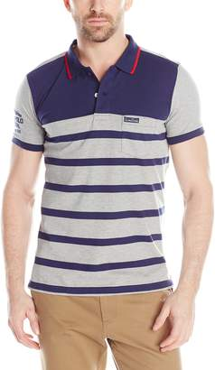 U.S. Polo Assn. Men's Slim Fit Color Block Jersey Polo