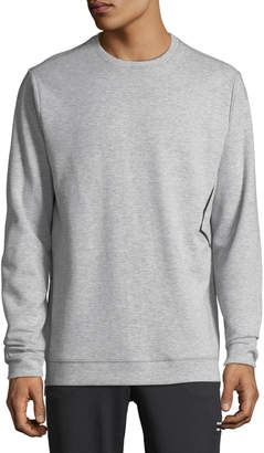 Karl Lagerfeld Paris Men's Side Pocket Cotton-Blend Sweatshirt