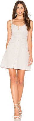 Cleobella Saltillo Short Dress in Gray $149 thestylecure.com