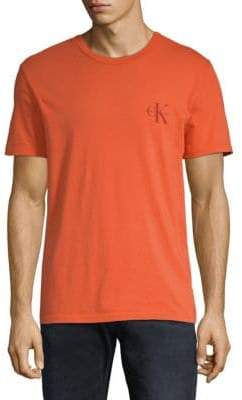 Calvin Klein Jeans Short-Sleeve Cotton Tee