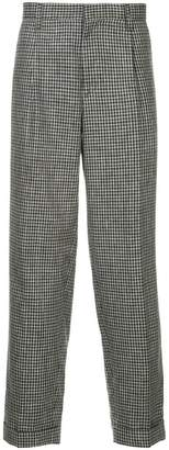 Kolor houndstooth straight trousers