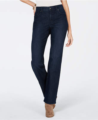 Style&Co. Style & Co Curvy-Fit Straight Leg Jeans