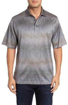 Bugatchi Classic Fit Ombre Jacquard Polo