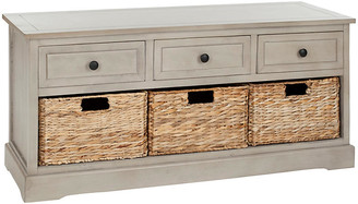 One Kings Lane Arlington 3-Drawer Storage Bench - Taupe