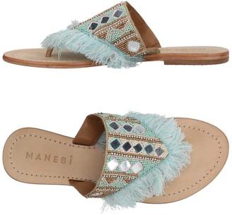 Manebi Toe strap sandals