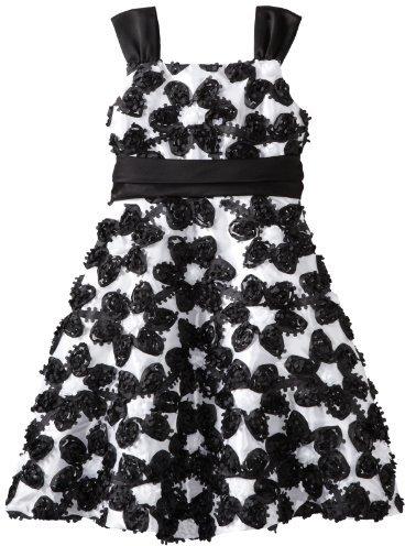 Rare Editions Girls 7-16 Soutach Dress