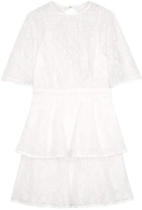 Keepsake Wild Love Embroidered Chiffon Dress