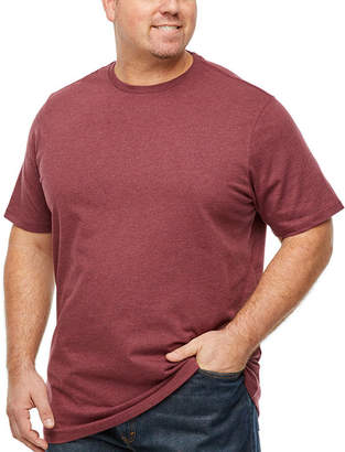 THE FOUNDRY SUPPLY CO. The Foundry Supply Co. Mens Crew Neck Short Sleeve T-Shirt-Big and Tall