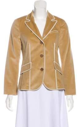 Brunello Cucinelli Notch-Lapel Long Sleeve Jacket