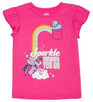 My Little Pony Toddler Girl Flutter Sleeve T-shirt