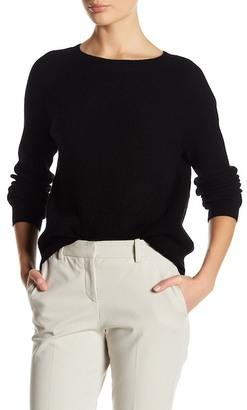 Vince. Rib Knit Raglan Cashmere Sweater $320 thestylecure.com