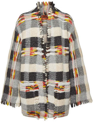 Missoni Cardigan with Wool, Alpaca and Cashmere