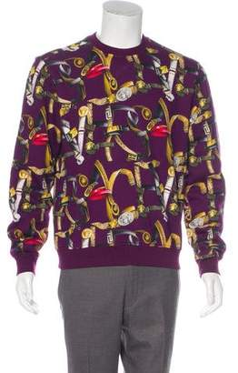 Versace 2016 Baroque Belt Sweatshirt