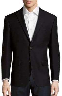 Michael Kors Solid Wool Jacket