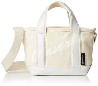 Converse (コンバース) - [コンバース]ミニトートバッグ CV Logo 2way mini Tote Bag ミニトートバッグ ショルダーバッグ シルバー