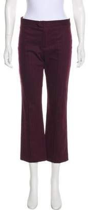 Etoile Isabel Marant Mid-Rise Pinstriped Pants