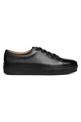 H&M Leather Sneakers - Black - Men
