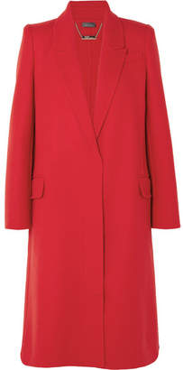 Alexander McQueen Double-faced Wool And Cashmere-blend Coat - Red