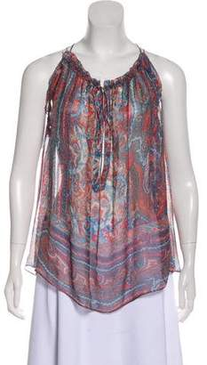 Isabel Marant Silk Paisley Top