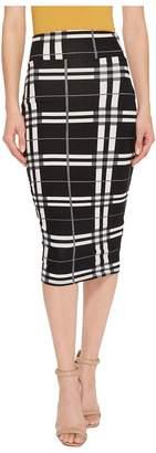 Unique Vintage Katharine Wiggle Skirt Women's Skirt