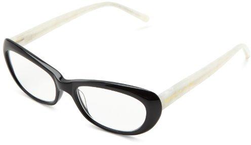 Kate Spade Celeste Celeste Cat Eye Reading Glasses,Black/Ivory 1.5,51 mm