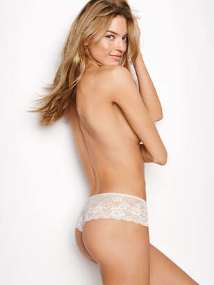 Victoria's Secret Dream Angels Floral Lace Hipster Thong Panty