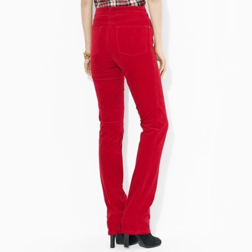 Ralph Lauren Slimming Classic Corduroy Pant