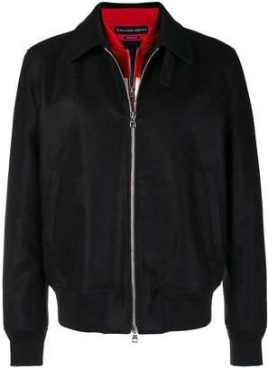 Alexander McQueen zipped shirt jacket