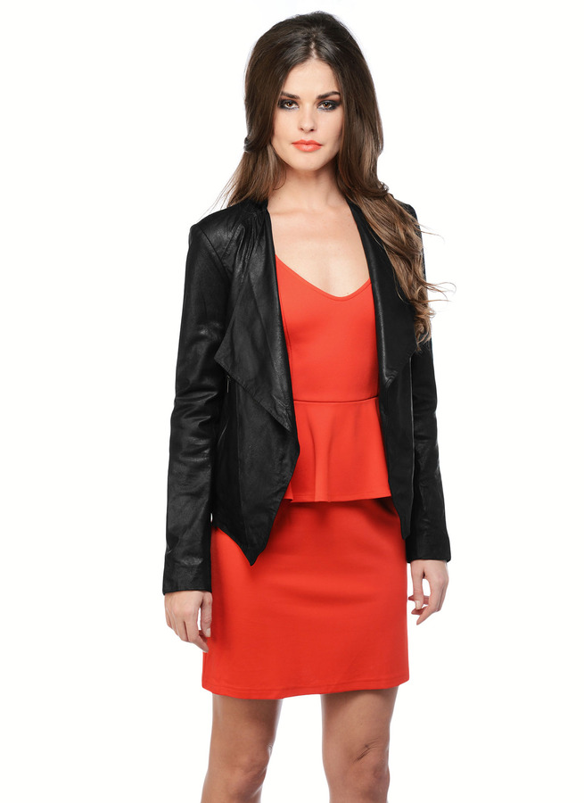 BB Dakota Chanelle Leather Jacket