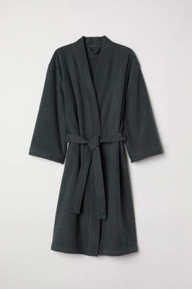 H&M Terry Bathrobe - Gray