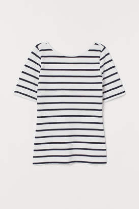 H&M Top with Low-cut Back - White