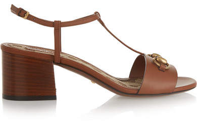 Gucci - Horsebit-detailed Leather Sandals - Tan