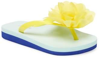 L'Amour & Angel Floral Flip-Flops