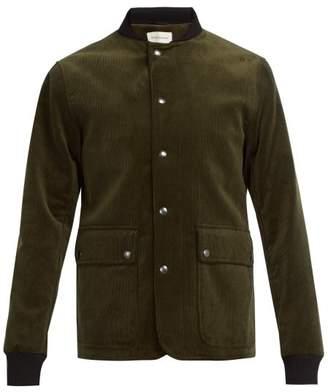 Oliver Spencer Berwick Cotton Corduroy Jacket - Mens - Green