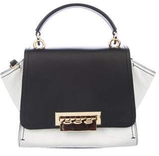 Zac Posen Embossed Leather Eartha Satchel