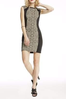 ABS by Allen Schwartz Black Bodycon Dress