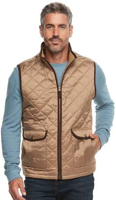 Caribbean Joe Men's Fleece-Lined Quilted Vest