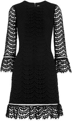 Whistles Valentina Fluted Sleeve Dress