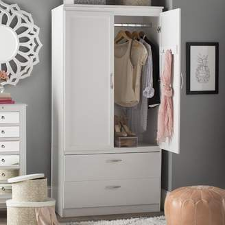 South Shore Acapella Wardrobe TV Armoire