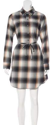Patagonia Plaid Mini Dress