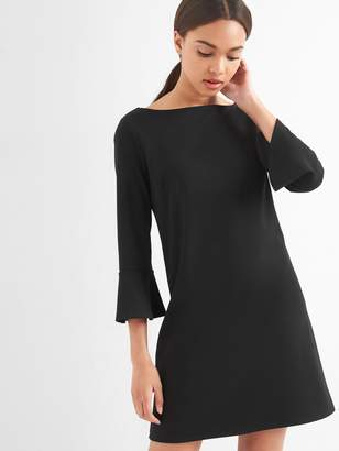 Gap Ponte bell sleeve shift dress
