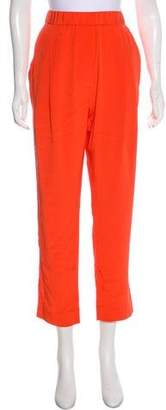 3.1 Phillip Lim Silk High-Rise Pants