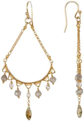 Chan Luu Faceted Stone Drop Earrings