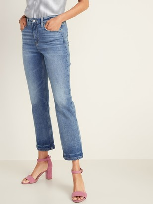 Old Navy High-Waisted Flare Ankle Jeans For Women