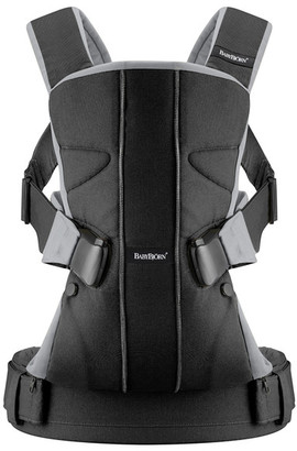 BabyBjorn Baby Carrier One - Black/Silver $189.95 thestylecure.com