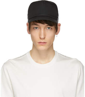 Givenchy Black 4G Webbing Curved Peak Cap