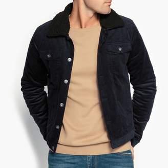 Corduroy Collar Jacket Men Shopstyle Uk