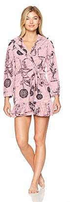 Betsey Johnson Women's Vintage Terry Hooded Robe