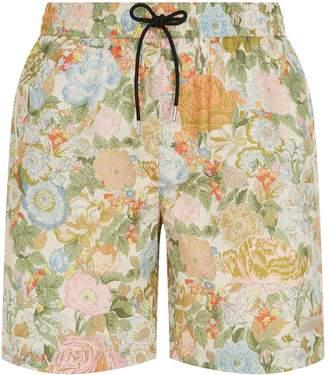 Burberry English Garden Swim Shorts