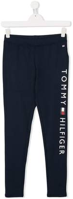 Tommy Hilfiger (トミー ヒルフィガー) - Tommy Hilfiger Junior ロゴ スウェットパンツ